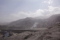 Eyjafjallajokull Gigjokull in ash.jpg