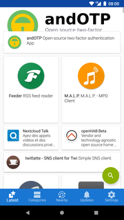 F-Droid Repository for free and open source Android apps