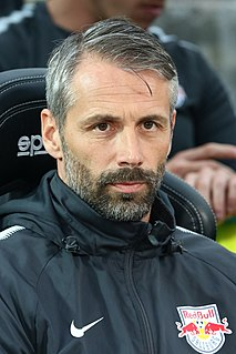 Marco Rose German association football manager and former player