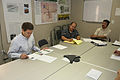 FEMA - 32344 - Senator Brownback examines FEMA recovery plans in Kansas.jpg