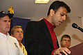FEMA - 37775 - Close up of Governor Bobby Jindal at the podium in Louisiana.jpg