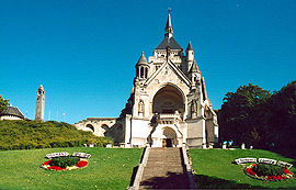 Memorial chapel to the Battles of the Marne, in Dormans