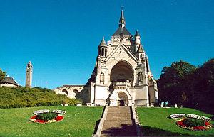 Dormans - Memorial chapel to the Battles of the Marne, in Dormans