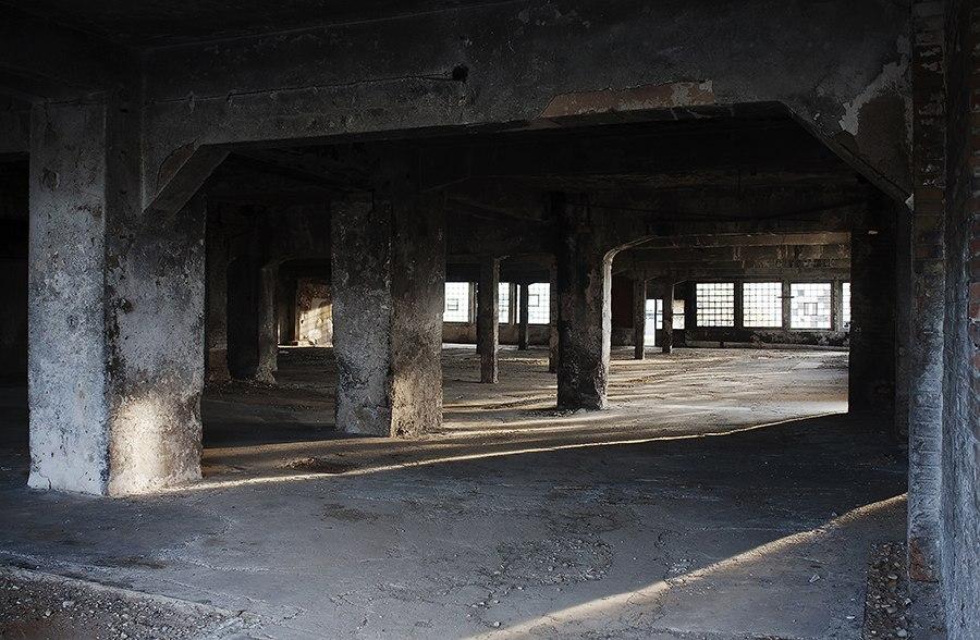Fabrika kože u Nišu, unutrašnjost