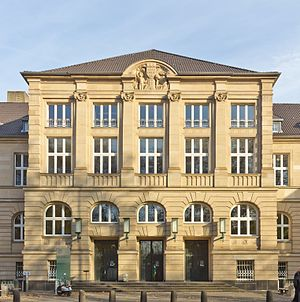 University of Cologne - First building of the new university