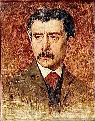 Alexandre Falguière - Alexandre Falguière (portrait by Alexis Axilette)