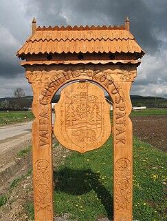 Valea Crișului Commune in Covasna County, Romania