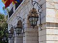 Fanals de la façana de l'ajuntament de Gandia.JPG