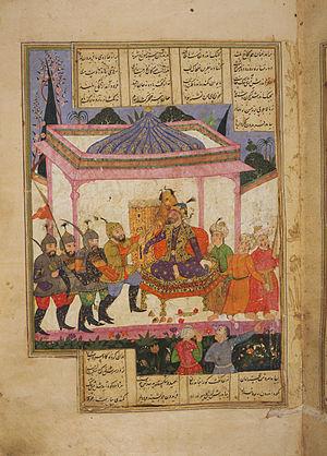 Zahhak - Fereydun defeats Zahhak
