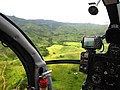 Farm country, heading 198 degrees 11 miles SW of Nadi @ 95 knots - panoramio.jpg