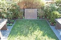 Farrah Fawcett grave at Westwood Village Memorial Park Cemetery in Brentwood, California.JPG