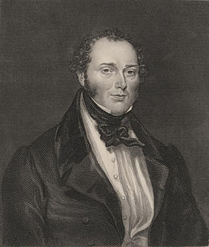 Feargus O'Connor - An engraving of Feargus O'Connor