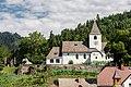 Feldkirchen Sankt Ulrich Pfarrkirche hl Ulrich Sued-Ansicht 19072017 5376.jpg