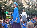 Festa Major de Gràcia 2011 - Gegants de Sants - XIII cercavila de cultura popular - carrer Gran P1330075.jpg