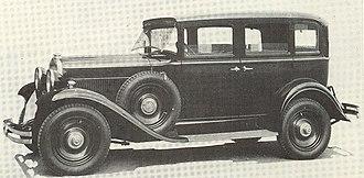 Fiat 522 - Image: Fiat 522 C Sedan 1931