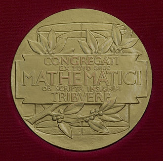 Fields Medal - The reverse of the Fields Medal