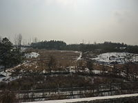 Yu'an District rural landscape (as seen from the Hewu Railway)