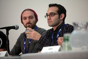 Fine Brothers - Rafi (left) and Benny Fine (right) at VidCon 2014