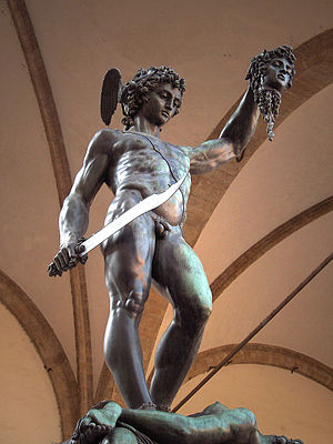 Perseus - Perseus with the Head of Medusa by Benvenuto Cellini (1554)