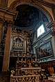 Firenze - Florence - Basilica di San Marco - View ENE on the Main Altar - Crucifix 1428 by Beato Angelico.jpg