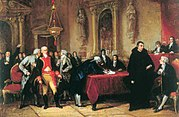 Firma del acta de independencia de Venezuela