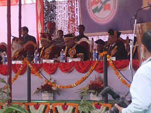 National Law University, Jodhpur - Image: First Convocation