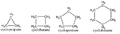 First four cycloalkanes.png