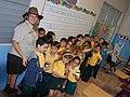 First graders of the Interamerican University Elementary School in San German (6505346147).jpg