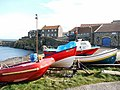 Fishing boats at Craster Harbour - geograph.org.uk - 1224465.jpg