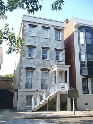 Flannery O'Connor - O'Connor's childhood home in Savannah, Georgia