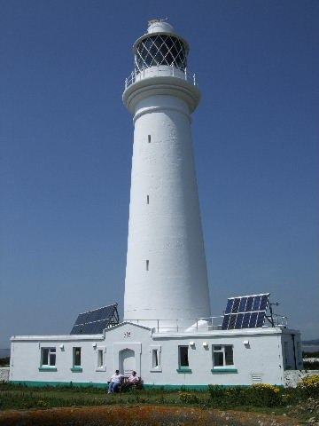 Flatholm Lighthouse - geograph.org.uk - 900719