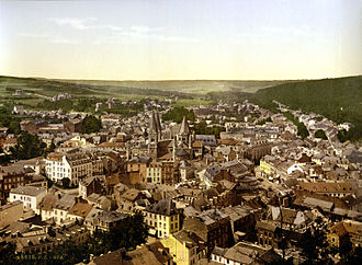 Spa, Belgium - Print of Spa, 1895