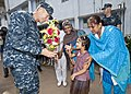 Flickr - Official U.S. Navy Imagery - Capt. Wallace G. Lovley is greeted in Bangladesh..jpg