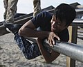 Flickr - Official U.S. Navy Imagery - Chief petty officer (CPO) selects maneuver through the obstacle course. (2).jpg