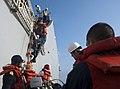 Flickr - Official U.S. Navy Imagery - Officer departs USS Decatur..jpg