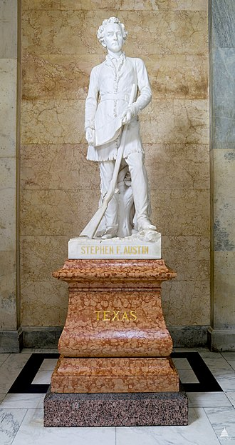 Stephen F. Austin (Ney) - The statue in the National Statuary Hall Collection