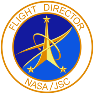 Flight controller - Flight Director's insignia at JSC