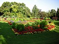 Floral display in Victoria Park - geograph.org.uk - 1326321.jpg