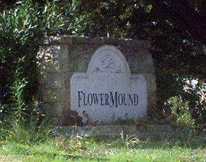 Flower Mound, Texas - Image: Flower Mound Sign