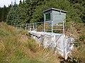 Flume, Hafren Forest - geograph.org.uk - 228904.jpg