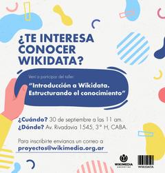 Wikipedia encuentros taller introducci n a wikidata for Importancia de oficina wikipedia