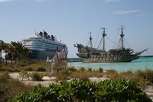 Die Disney Wonder und die Flying Dutchman
