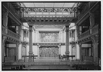 Shakespeare Theatre Company - Folger Library Theater, circa 1932