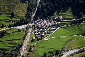 Bedretto - Fontana hamlet