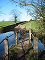 Footbridge over the River Weaver - geograph.org.uk - 339217.jpg