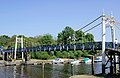 Footbridge over the Thames to Teddington Lock - panoramio.jpg