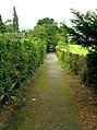 Footpath - Bolling Road, Ben Rhydding - geograph.org.uk - 911331.jpg