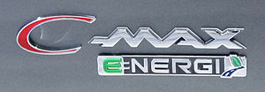 Ford C-Max - Ford C-Max Energi badge.