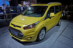 Ford Tourneo Connect - Mondial de l'Automobile de Paris 2012 - 001.jpg
