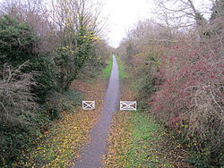 Former Chester and Connah's Quay railway line at Blacon (2).JPG